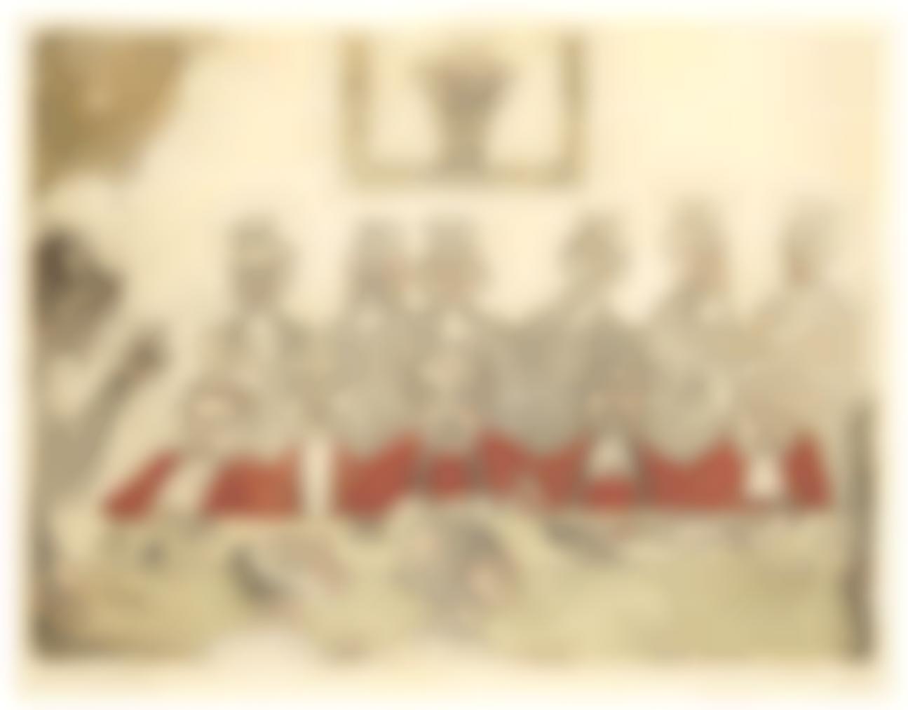 James Ensor-Les Bons Juges (The Good Judges)-1894