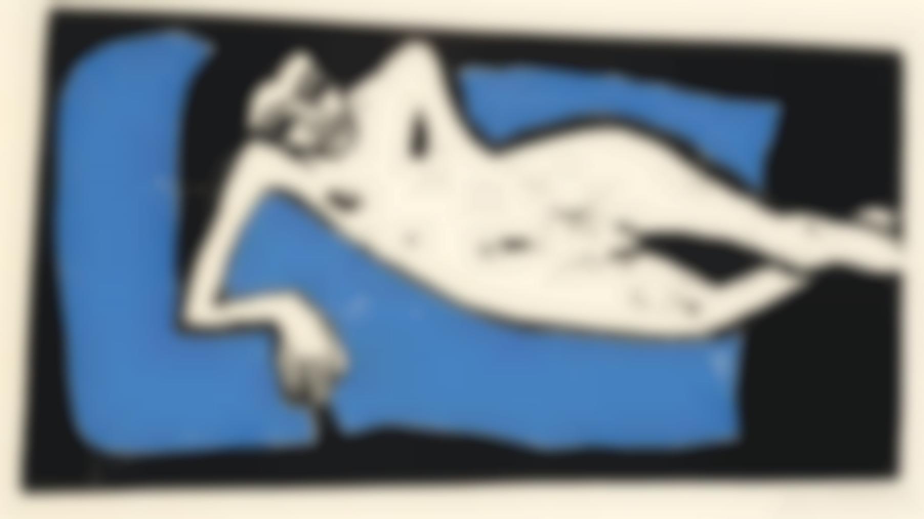 Erich Heckel-Franzi Liegend-1910