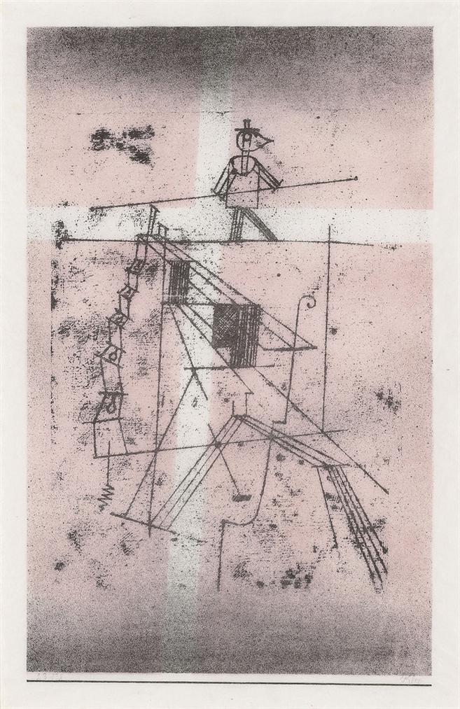 Paul Klee-Seiltanzer-1923