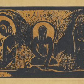 Paul Gauguin-Te Atua (The Gods), From: Noa Noa-1894