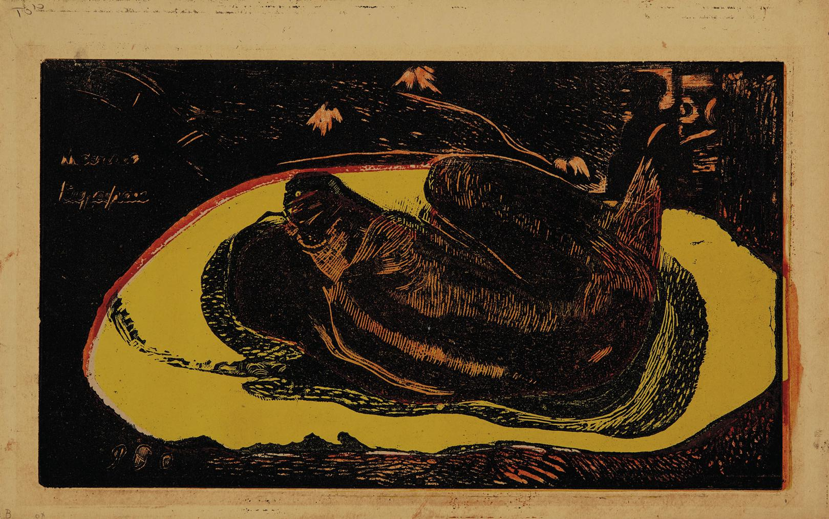 Paul Gauguin-Manao Tupapau (Watched By The Spirits Of The Dead), From: Noa Noa-1894