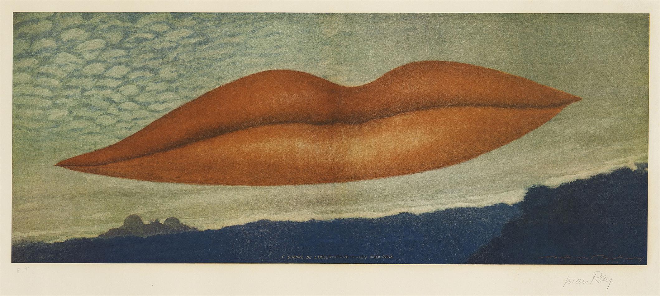 Man Ray-A Lheure De Lobservatoire - Les Amoureux-1970