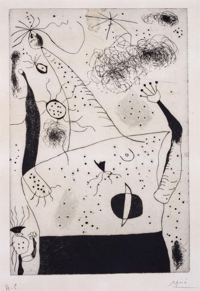 Joan Miro-La Geante-1938