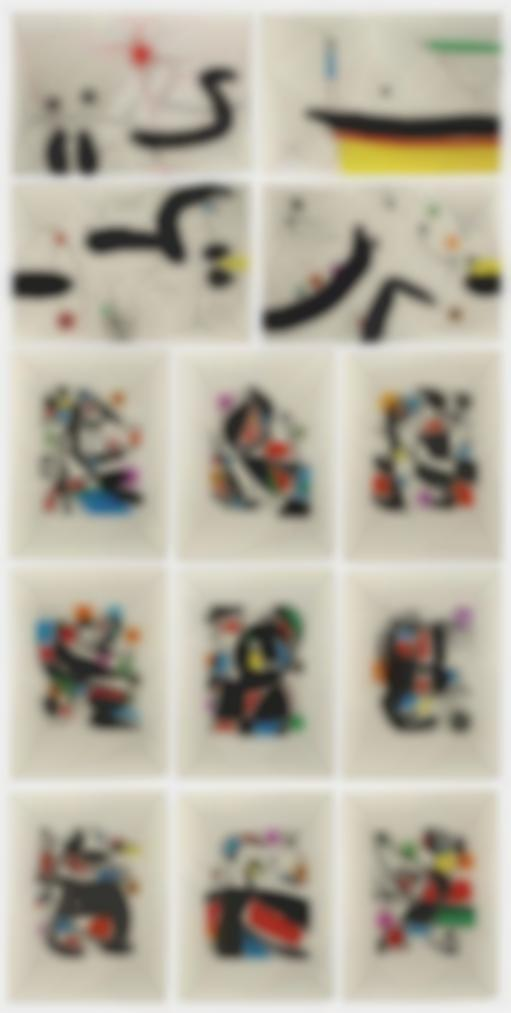 Joan Miro-Le Marteau Sans Maitre-1976
