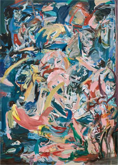 Cecily Brown-Armed And Fearless-2014