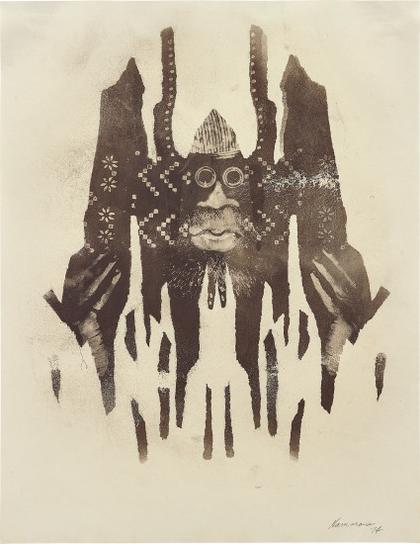 David Hammons-Untitled (Body Print)-1974