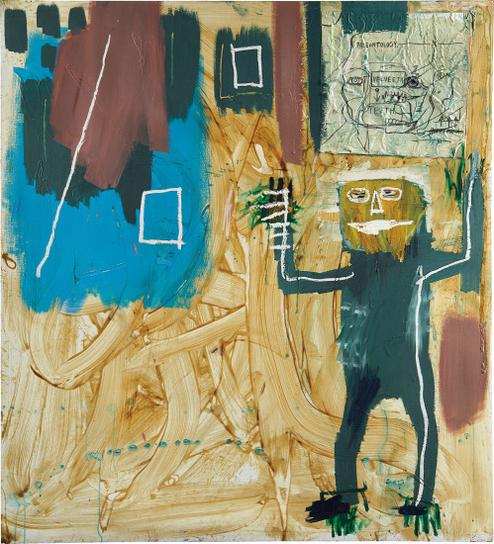 Jean-Michel Basquiat-Untitled (Velveeta)-1984