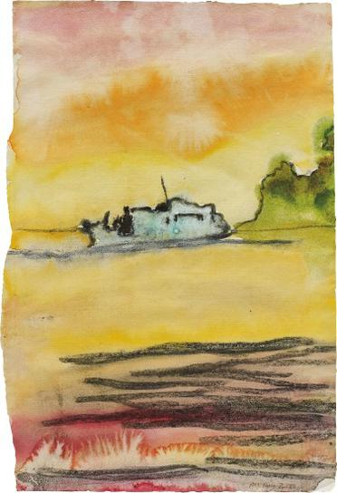 Peter Doig-Boat To Carrera-2000