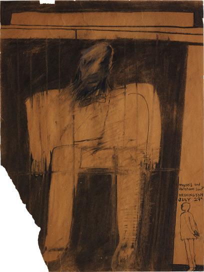 David Hockney-Myself And Abraham Lincoln-1961