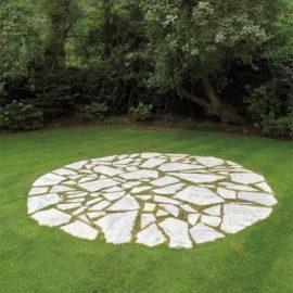 Richard Long-White Marble Circle-1982