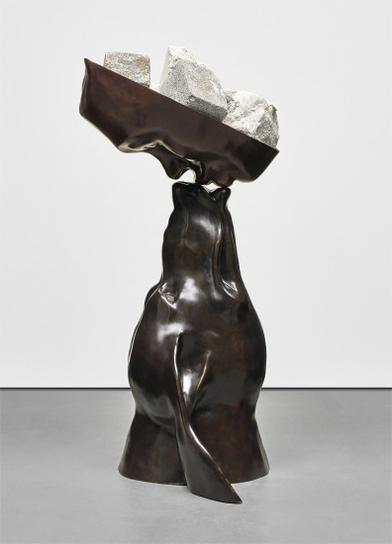 Dennis Oppenheim-Heavy Dog Kiss-1993
