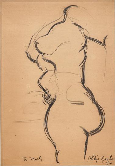 Philip Guston-Untitled-1954
