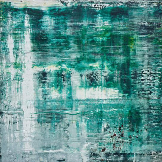 Gerhard Richter-Cage Grid (Teil A)-2011