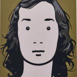 Julian Opie-Fiona, Artist. 4.-2001