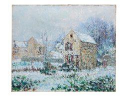 Gustave Loiseau-La Neige, Environs De Pontoise-1905