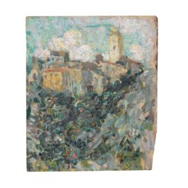 Henri Eugene Le Sidaner-Le Village, Dolceacqua-1911