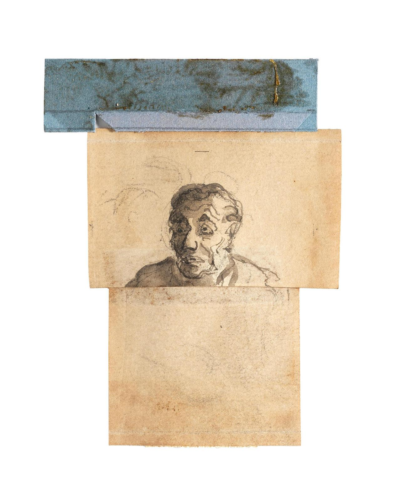 Honore Daumier-Tete D'Homme-