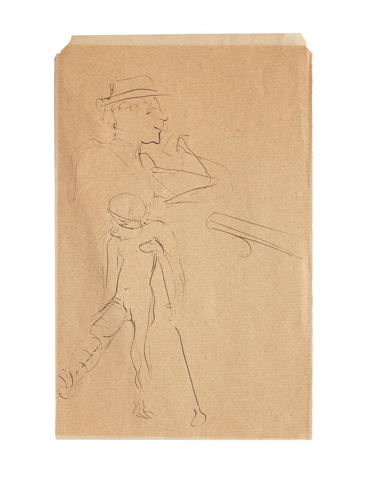 Henri de Toulouse-Lautrec-Eros Vanne-1894