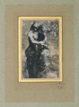 Auguste Rodin-Mere Et Enfant-1880
