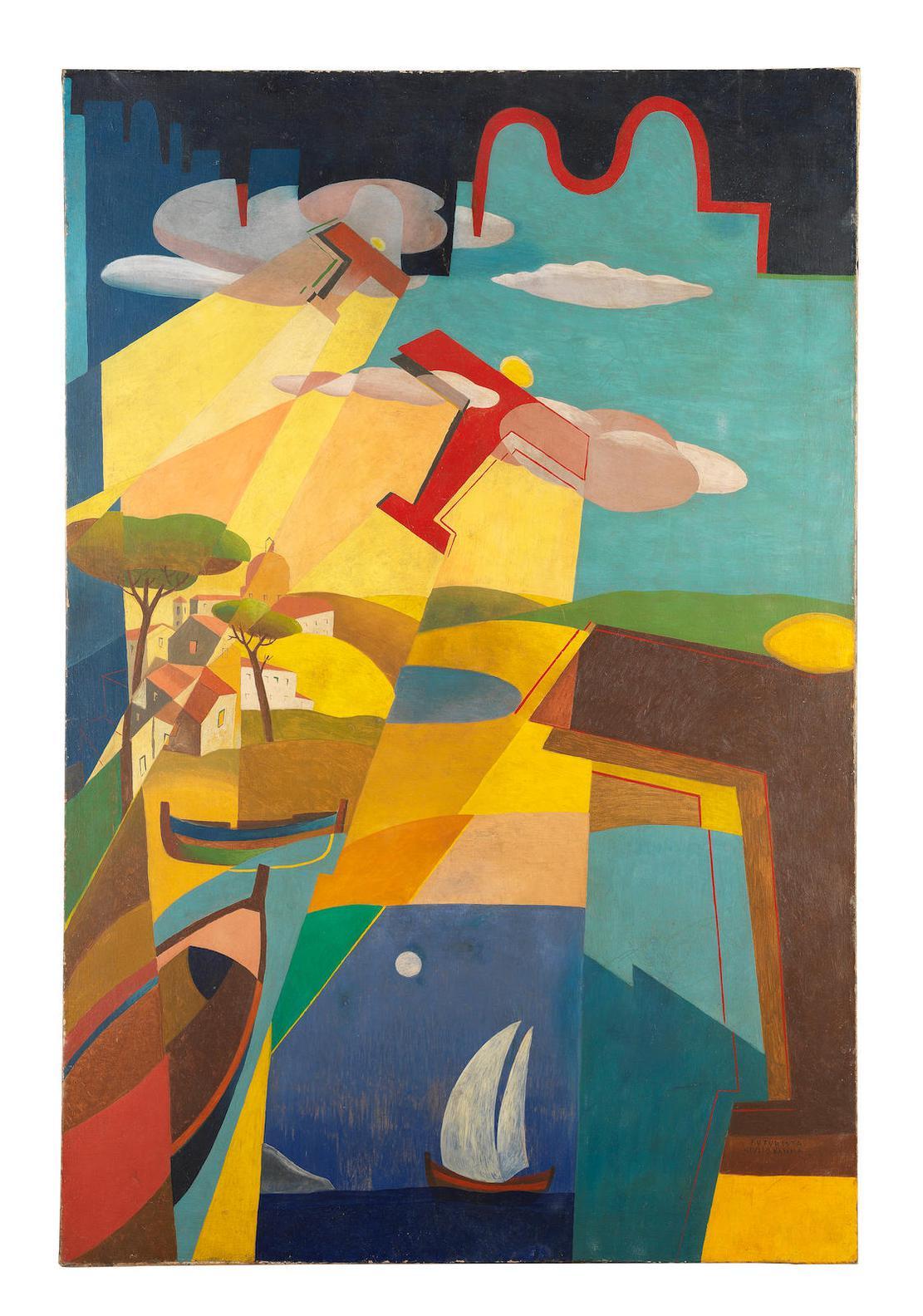 Giulio D'Anna-Volo Su Tindari-1929