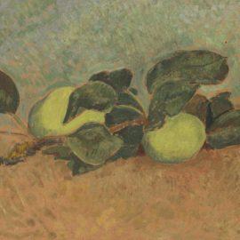 Paul Serusier-Nature Morte A La Branche De Pommier-1923