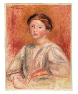 Pierre-Auguste Renoir-Buste De Femme-1911