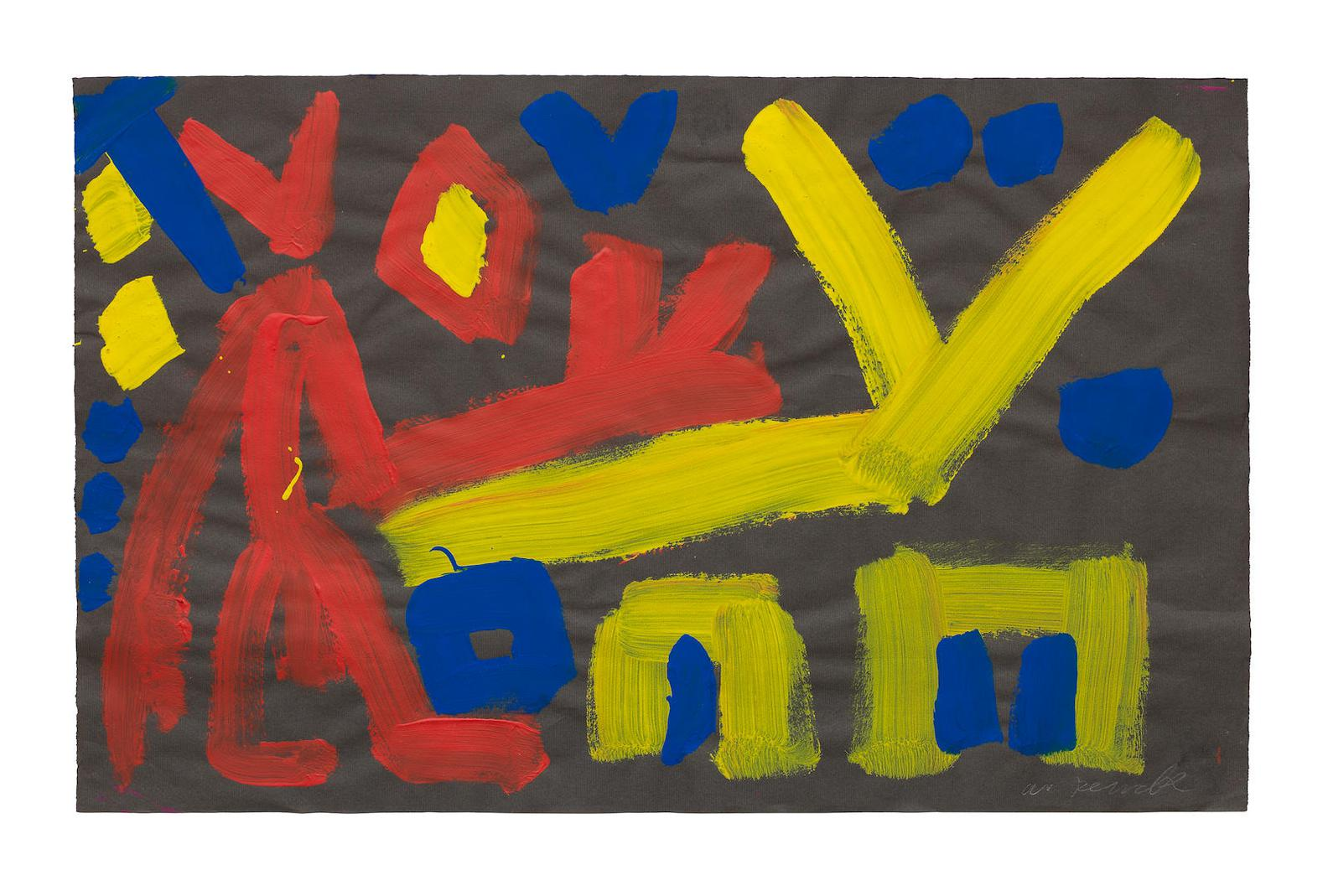 A.R. Penck-Untitled-1981