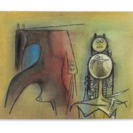 Wifredo Lam-Untitled-1973