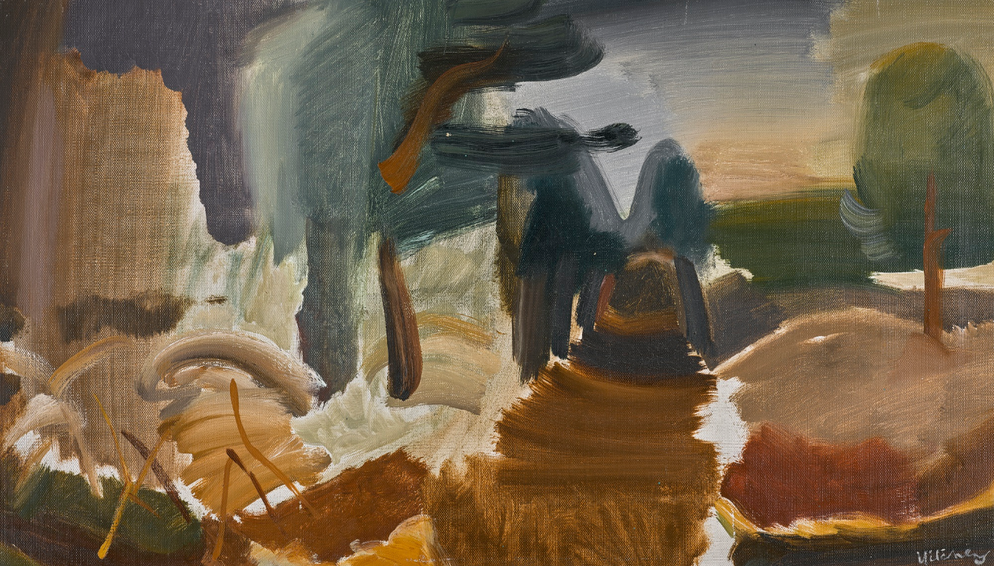 Ivon Hitchens-Larchwood Path-1948