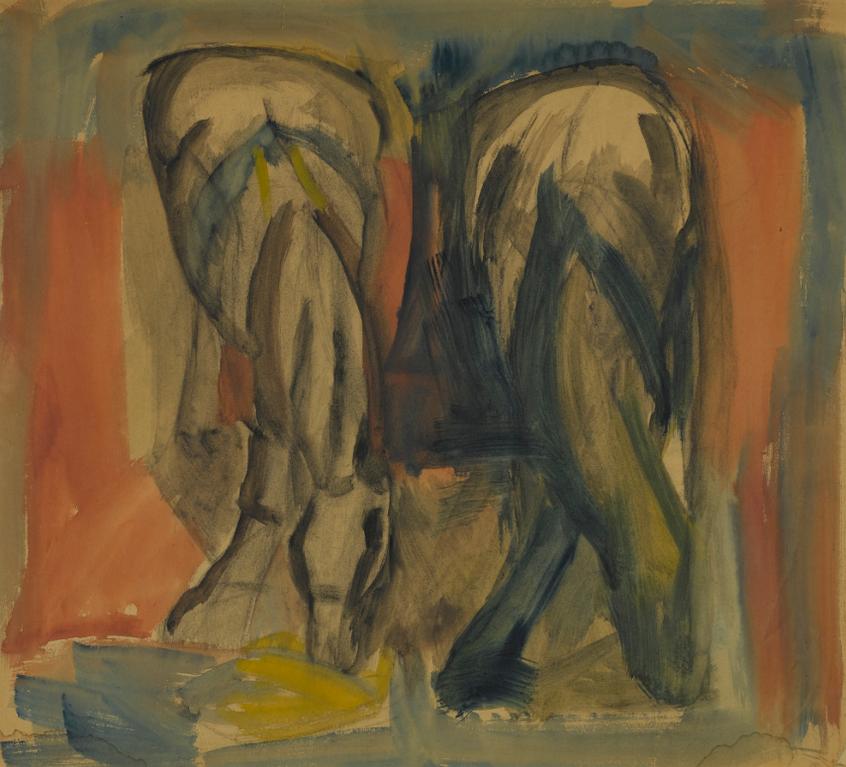 David Bomberg-Horses-1922