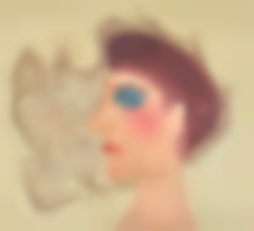 John Banting-Head With Netting-