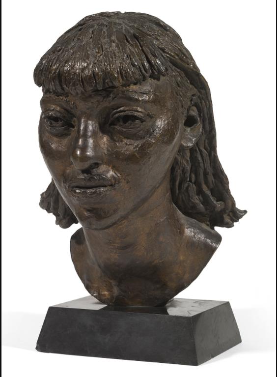 Sir Jacob Epstein - First Portrait Of Isobel, Head-1932