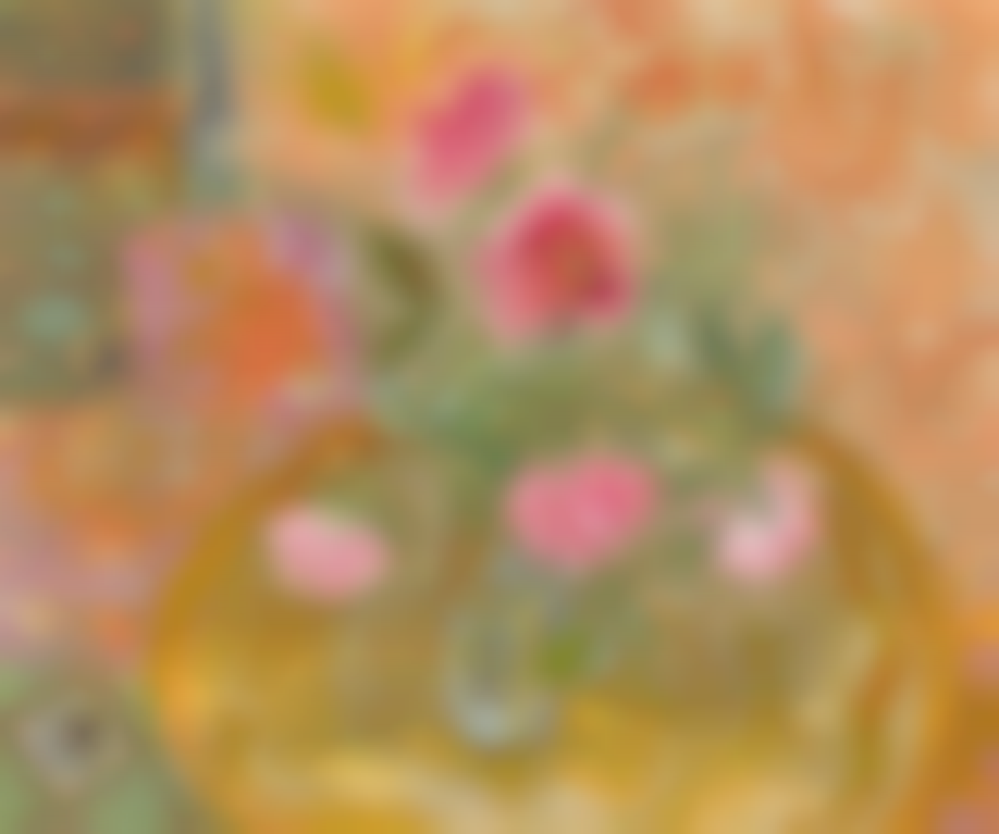 Winifred Nicholson-Arab Roses-1971
