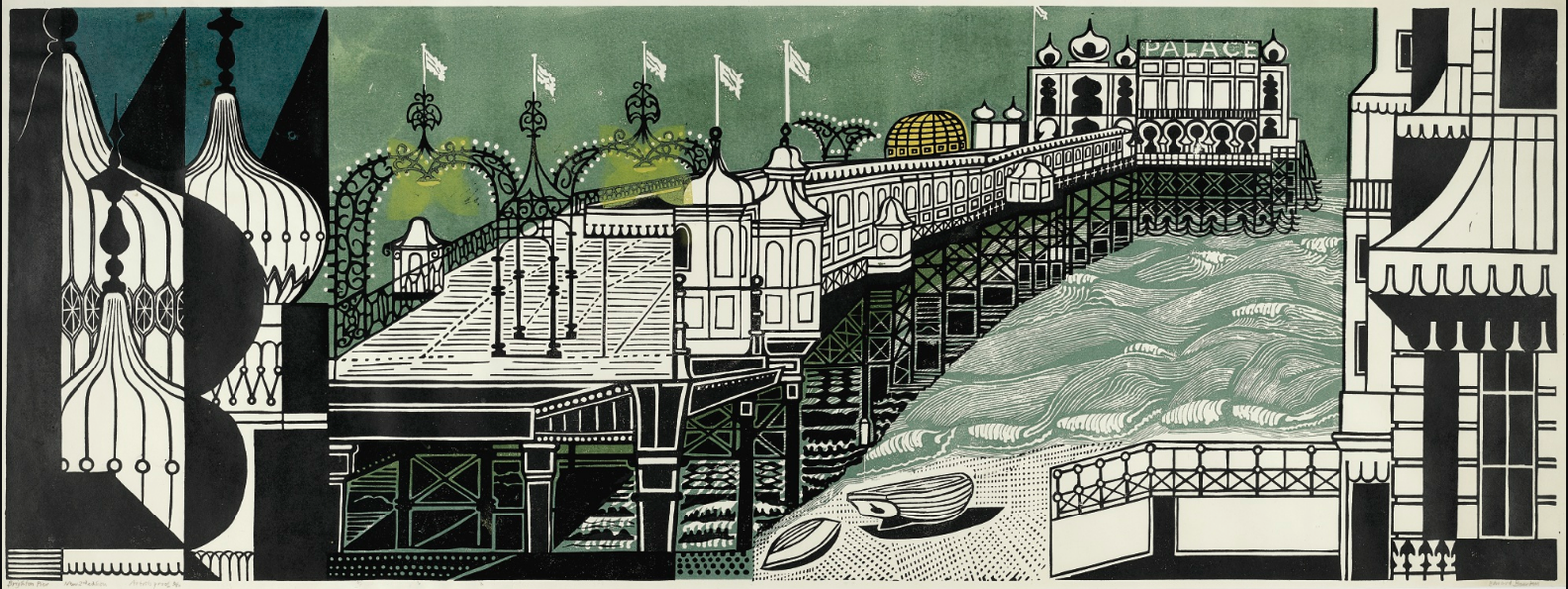 Edward Bawden-Brighton Pier-1977