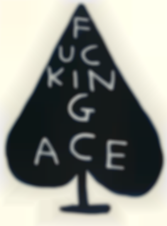 David Shrigley-Fucking Ace-2018