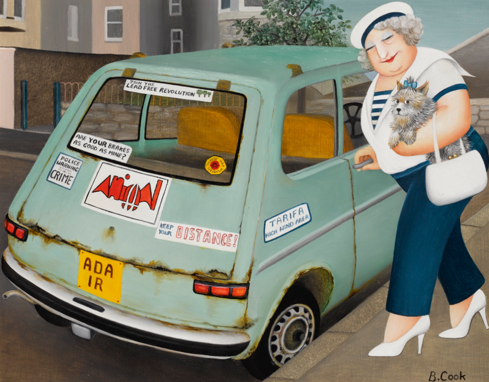 Beryl Cook-One Lady Owner-1990