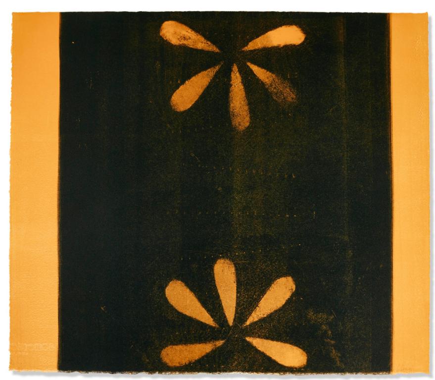 Prunella Clough-Floral Symmetry-1992