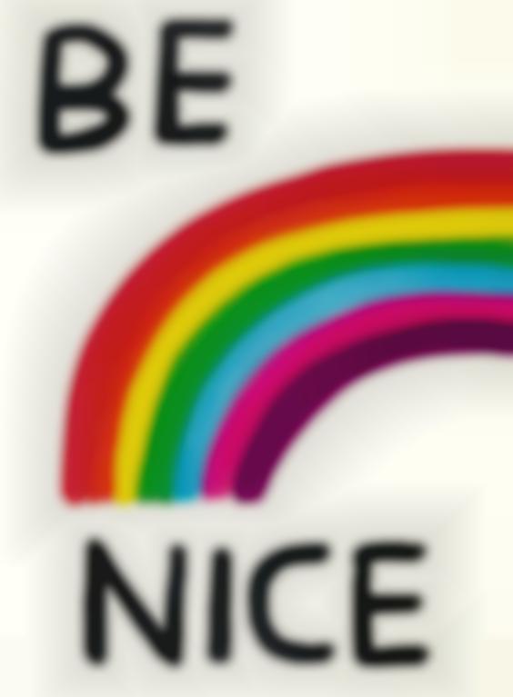 David Shrigley-Be Nice-2017