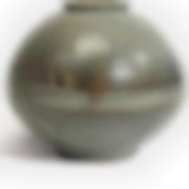 Bernard Leach-Large Globular Vase-1965