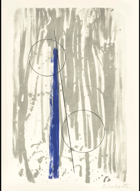 Barbara Hepworth-Two Marble Forms (Mykonos)-1969