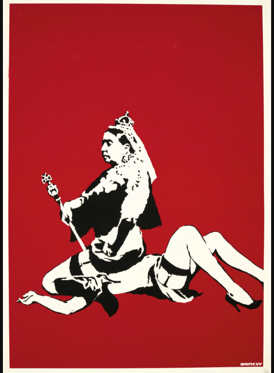 Banksy-Queen Vic-2003