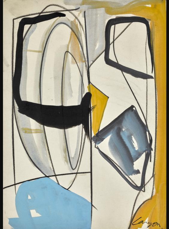 Peter Lanyon-Untitled (Study Texas)-1964