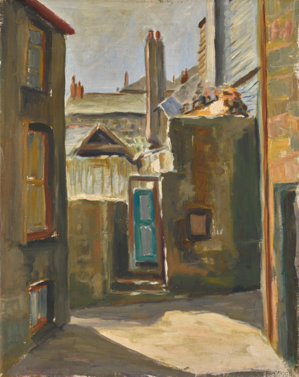 Sir Terry Frost - Untitled (The Digey From Rose Lane, St Ives)-1948
