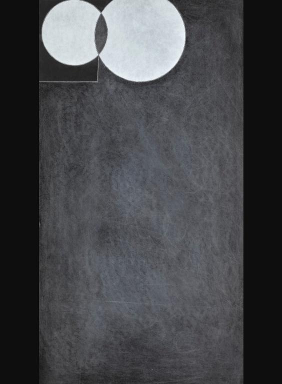 George Dannatt - Slate With Interlocked Circles; Slate With White Intrusion-2004