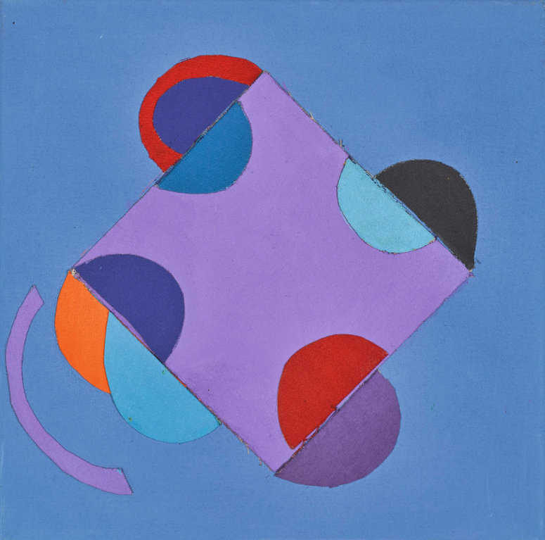 Sir Terry Frost - Blue Collage-2000