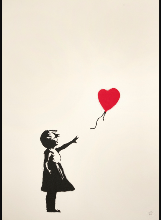 Banksy-Girl With Balloon-2004