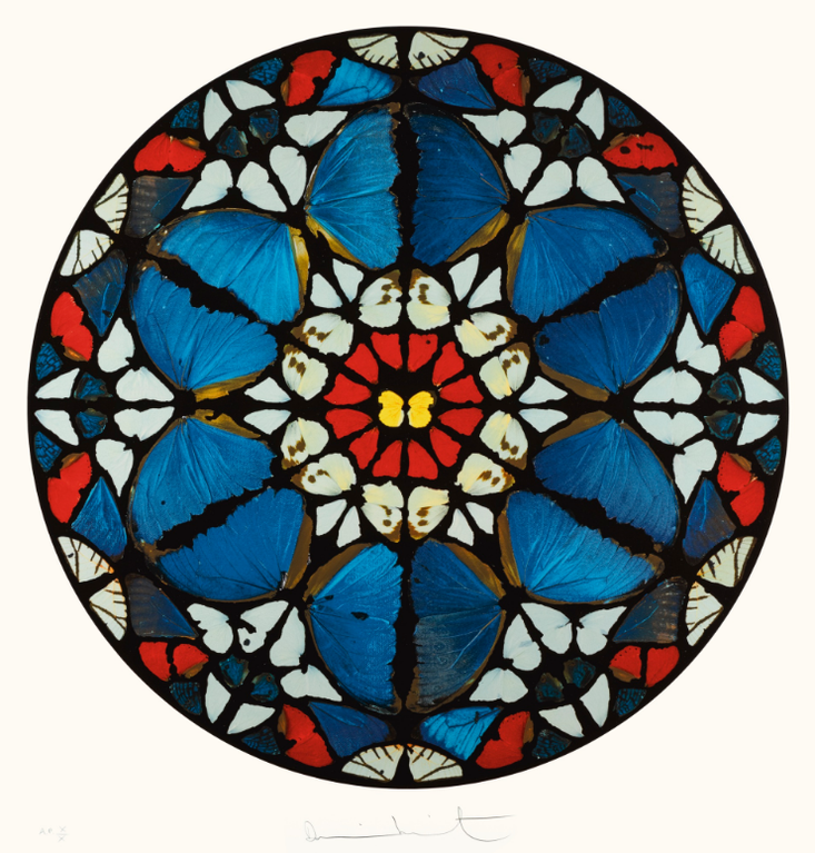 Damien Hirst-Psalm: Verbea Mea Auribus; And Psalm: Exaudi Domine-2009