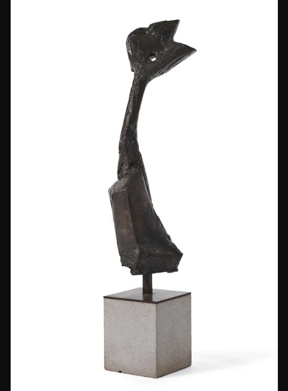 Bernard Meadows-Head Of Fallen Bird-1959