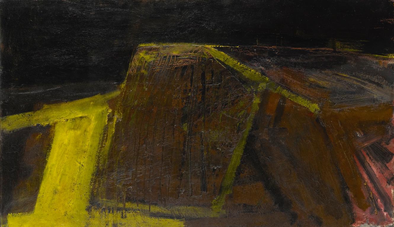 Karl Weschke - Quiet Landscape-1958