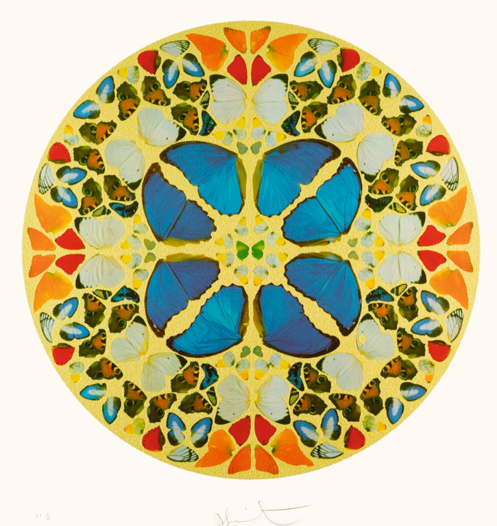 Damien Hirst-Psalm: Dominus Noster; And Psalm: Exaudiat Te Dominus-2010